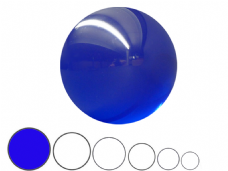 Jac Products Ocean Blue Translucent 100mm Acrylic Contact Ball